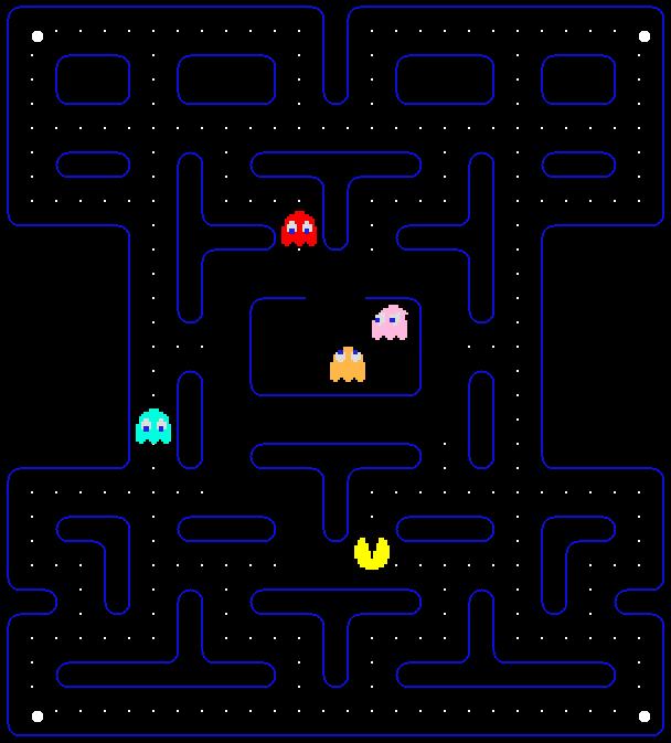 XScreenSaver Pacman